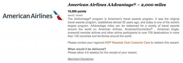 Converting IHG Rewards Club Points to Airline Miles | Hotel
