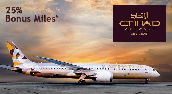 Etihad 25% Guest Miles Marriott Hilton Transfer Offer